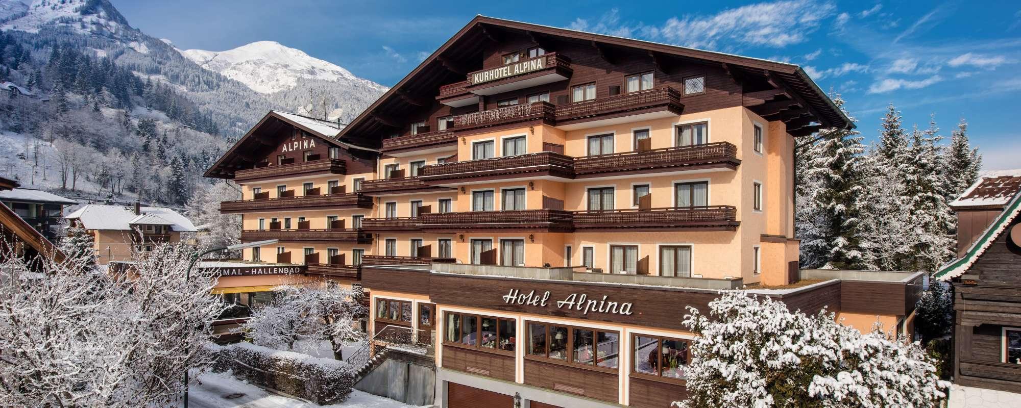 Alpina Hotel 4 Hotel Alpina In Bad Hofgastein Skiing Holidays And Spa