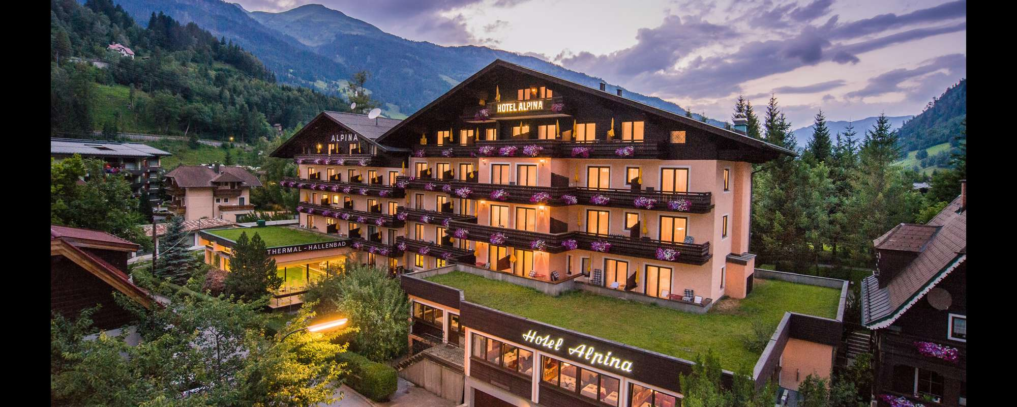 Hotel Alpina In Bad Hofgastein Skiing Holidays And Spa - Alpina hotel